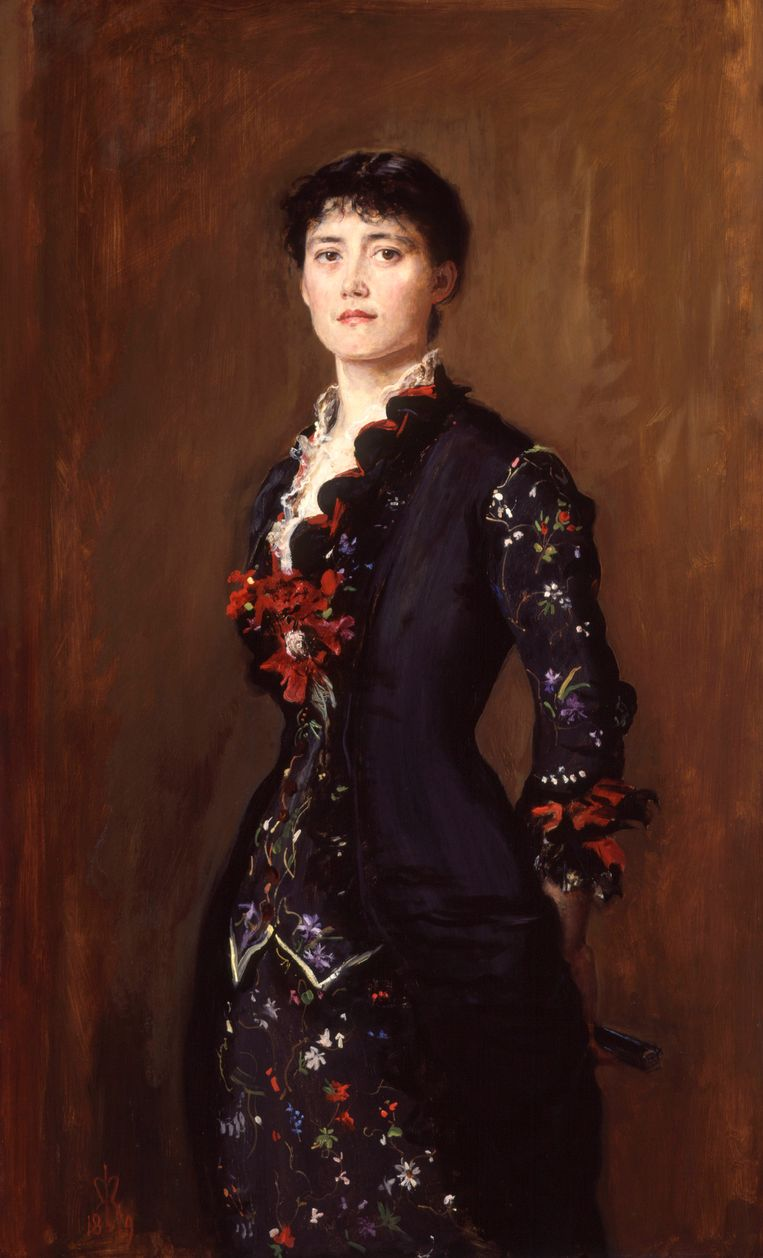 Louise Jane Jopling, 1879, Sir John Everett Millais. Beeld Van Gogh Museum