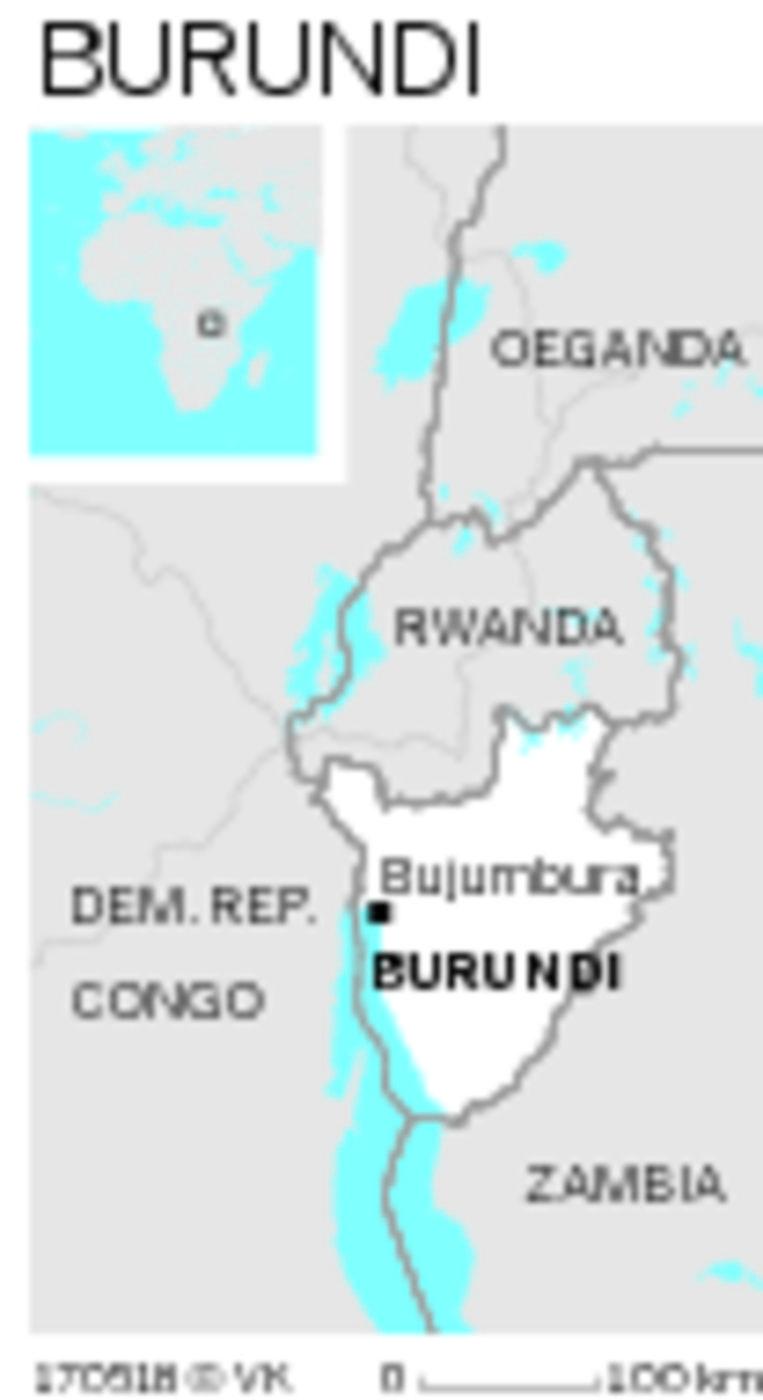 Burundi. Beeld