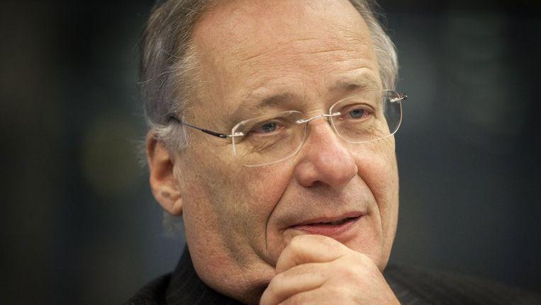 Wim Deetman eerder deze maand tijdens de hoorzitting in de Tweede Kamer waarbij vertegenwoordigingen van slachtoffers van seksueel misbruik in de Rooms-Katholieke Kerk worden gehoord. Beeld anp