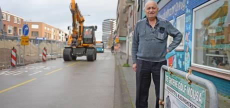 Dubbel doorbijten voor Enschedese ondernemers aan opgebroken Haaksbergerstraat: 'Dit is niet normaal'