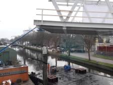 'Historisch moment voor Veghel': de brug die Noord- en Zuidkade in Veghel verbindt ligt op z'n plek