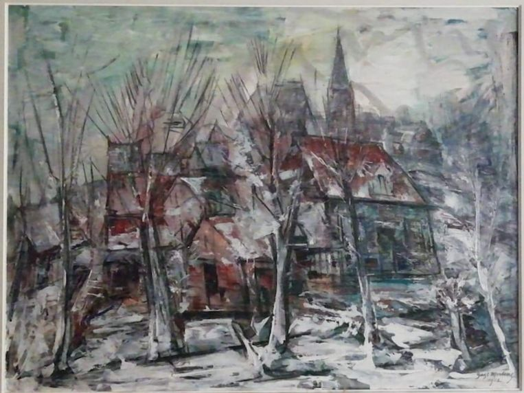 Kunstwerken van Gustaaf Mertens