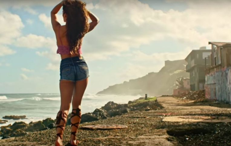 Screenshot uit de clip bij Despacito, de best bekeken YouTube-video ooit.