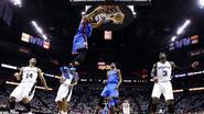 Oklahoma  City Thunder op één zege van NBA-finale