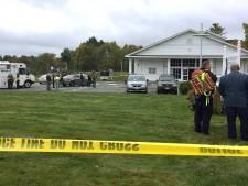 Deux personnes blessées par balle lors d'un mariage, le tireur maîtrisé par les convives