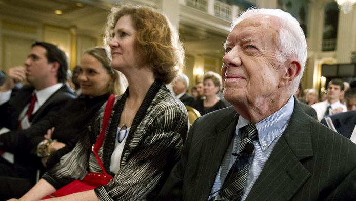 De Amerikaanse oud-president Jimmy Carter