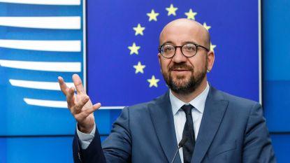 EUROPEES PRESIDENT OP Z'N 43