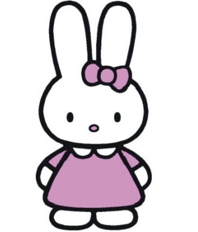 Cathy, het vriendinnetje van Hello Kitty. Beeld