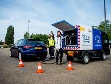 Shell bezorgt nu brandstof aan huis in Rotterdam