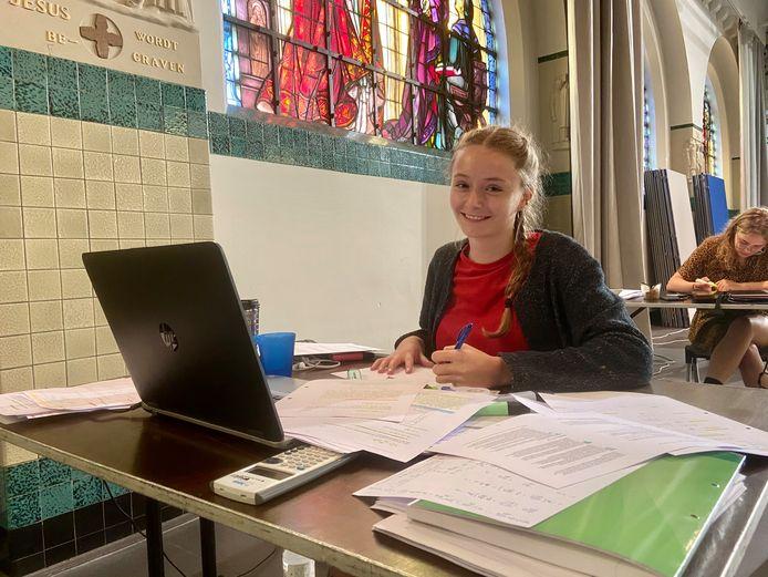 Voor de examens in januari zullen de studenten hoger onderwijs zich niet samen in de Kapel kunnen voorbereiden