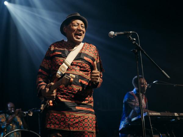 Ebo Taylor was een van de hoogtepunten van Festival Mundial in 2018.