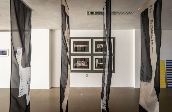 De expositie bij Pennings Foundation van Inge Nabuurs en Erwin van Doorn.