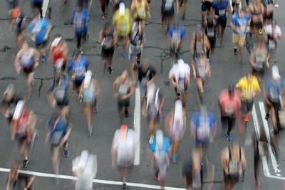 Hardloopster vergist zich in continent: halve marathon Worcester is in VK, niet in VS