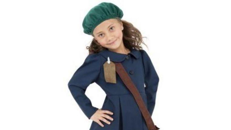 Het pakje dat moet doorgaan voor een Anne Frank-outfit.