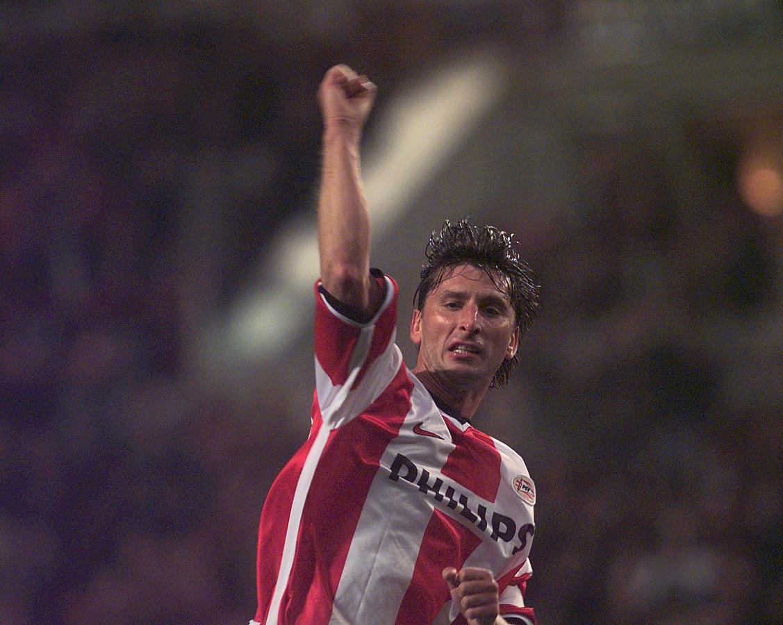 Luc Nilis in zijn hoogtijdagen bij PSV.