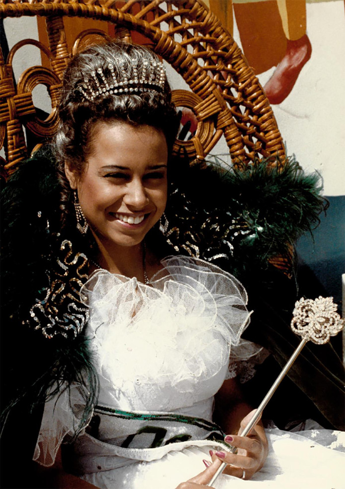 Deolinda Gomes, de zomerkoningin van 1984.