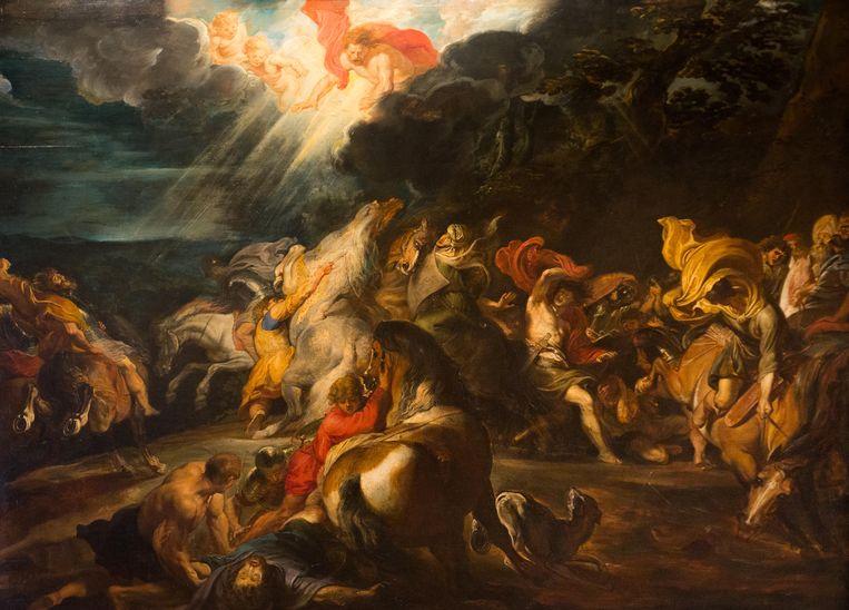 Rubend: De bekering van Paulus, ca 1610-1614, schilderij. Beeld Alamy