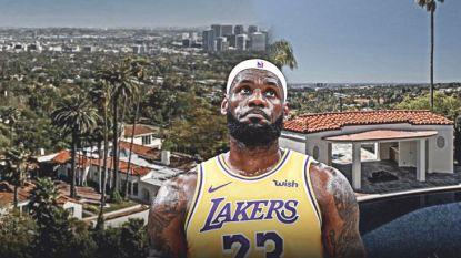 Een nieuw paleis voor de 'King': LeBron James koopt villa in Beverly Hills ter waarde van 34,5 miljoen euro