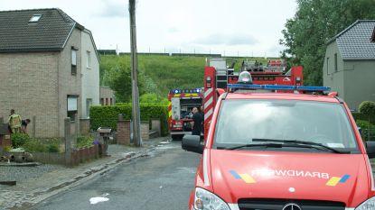 Garage brandt uit in Durmestraat in Belzele