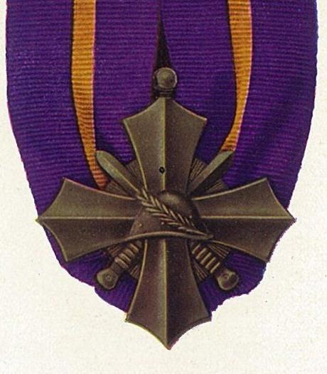 Postuum Oorlogskruis voor  KNIL-militair Frederik Breen