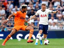Willems ziet Newcastle vanaf bank winnen bij Spurs, Wolves doet Pieters' Burnley in extremis pijn