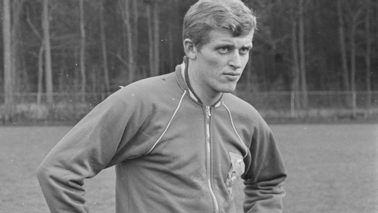 De linksbuiten van Ajax in 1966. Beeld anp