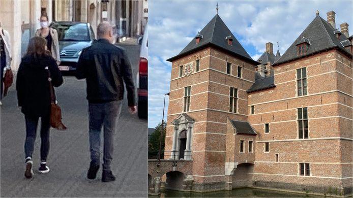 Beklaagde D.P. verlaat het gerechtsgebouw in Turnhout