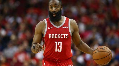 Harden opnieuw de grote man bij Houston - LA Lakers blijven ook zonder James in het sukkelstraatje