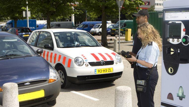 Cition deed afgelopen jaar zestien keer aangifte van poging tot doodslag. In de meeste van die gevallen reed een automobilist in op een parkeercontroleur. Beeld