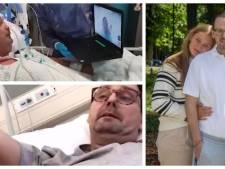 """Il a passé 11 semaines dans le coma à cause du virus: """"Les médecins m'appellent le miracle de Louvain"""""""