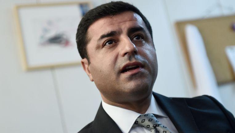 HDP-voorzitter Selahattin Demirtas