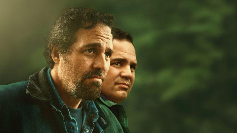 Mark Ruffalo in zijn dubbelrol als de tweelingbroers Dominick en Thomas. Beeld