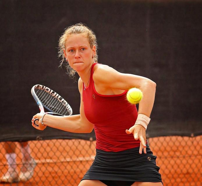 Stephanie Visscher is op dreef in Istanbul.