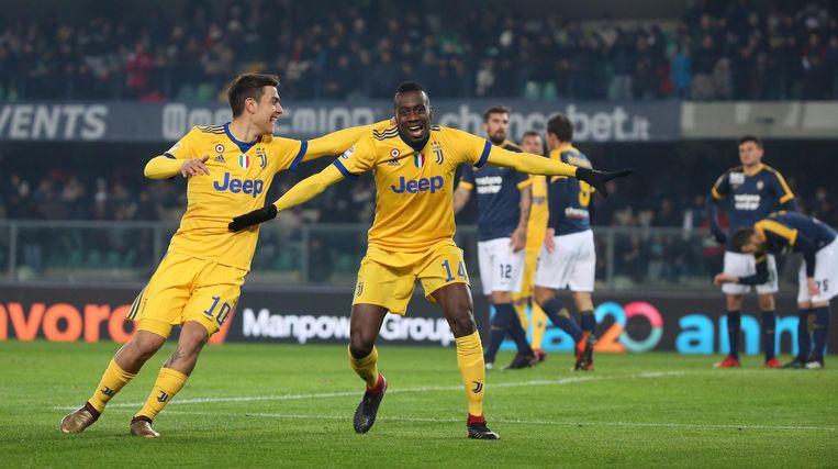 Matuidi opende zaterdag de score in Verona.