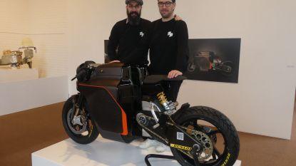Ook dit is Design op wielen: Saroléa toont unieke elektrische motorfiets in Deinze
