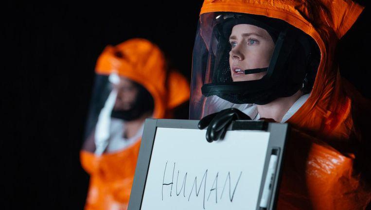 Amy Adams in de sciencefictionfilm Arrival. Beeld