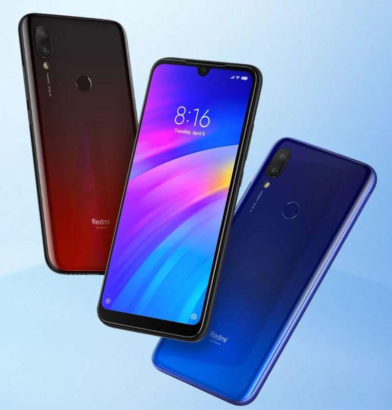 Een Redmi-toestel van de Chinese fabrikant Xiaomi Beeld Xiaomi