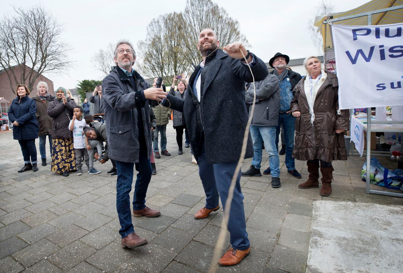 In maart van dit jaar opende wethouder Boaz Adank het nieuwe pand van Werk aan de Wijk in Breda -Noord.