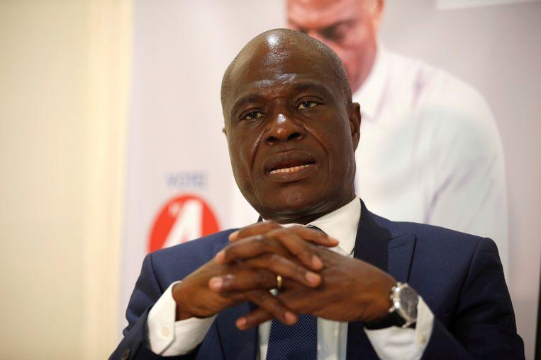 Het uitstel van de verkiezingen benadeelt de populaire oppositiekandidaat Martin Fayulu.  Beeld REUTERS