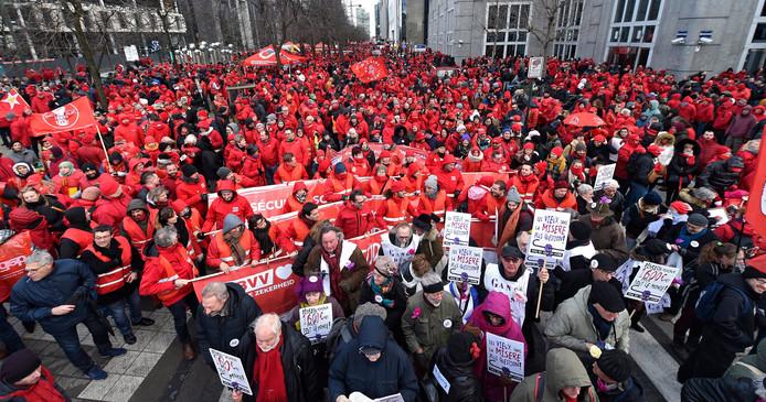 - Manifestation nationale de la FGTB pour une sécurité sociale renforcée et justement financée