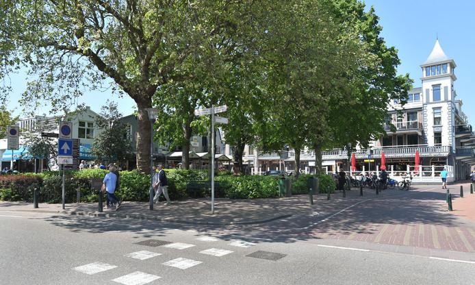 Het centrum van Domburg.
