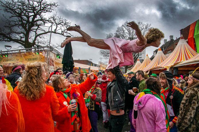 Carnaval 2020 in Tilburg.