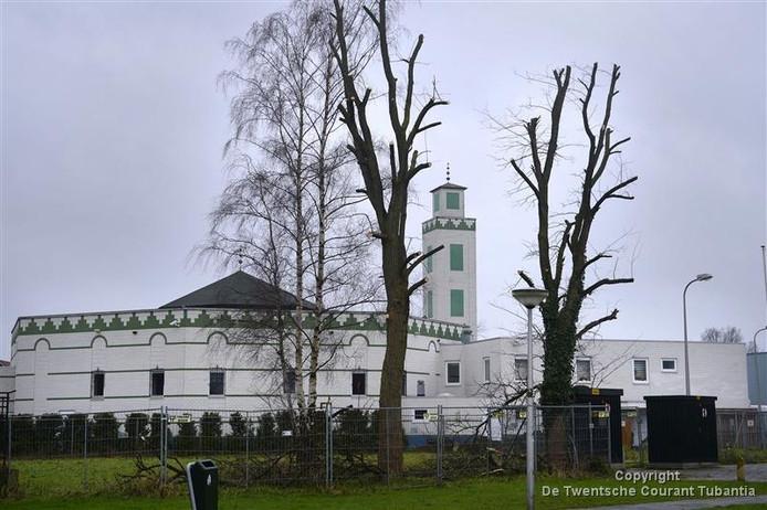 Moskee aan Tweede Emmastraat.