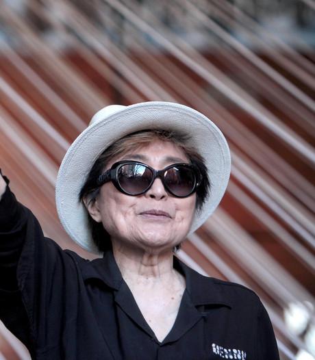 Yoko Ono slikt frisdrank John Lemon niet