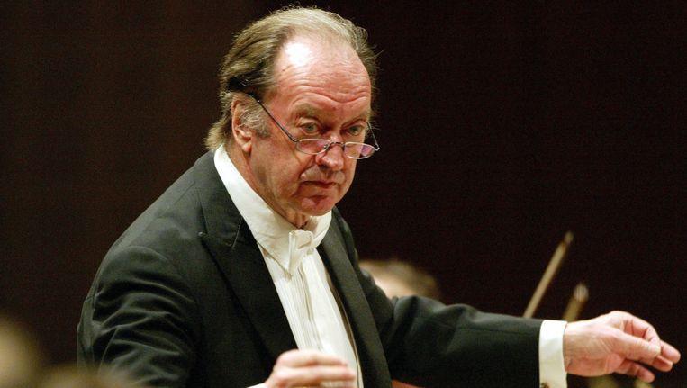 Nikolaus Harnoncourt in 2006. Beeld ap
