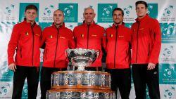 """Goffin opent finale Davis Cup tegen Pouille, maar speelt hij ook het dubbel? Noah: """"We houden er rekening mee"""""""