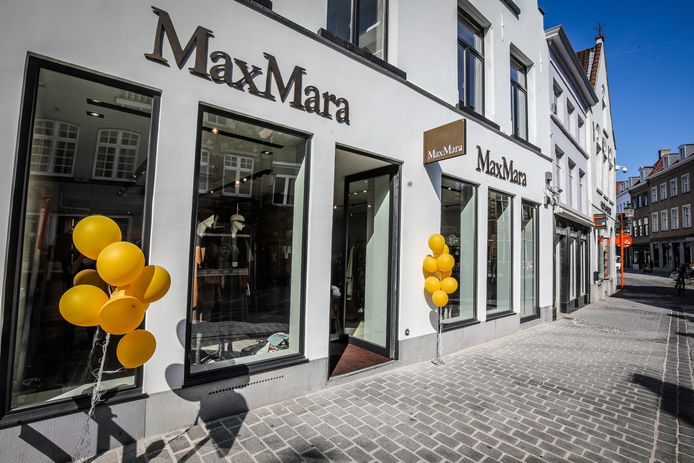 De vernieuwde winkel van Max Mara in de Noordzandstraat.