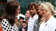 Clijsters ontvangt Kate Middleton op Wimbledon