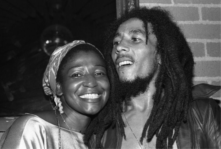 'In de begindagen was Marley nog heel rechtlijnig en afgunstig. Toen zou hij zijn vrouw Rita weleens geslagen hebben.' Beeld