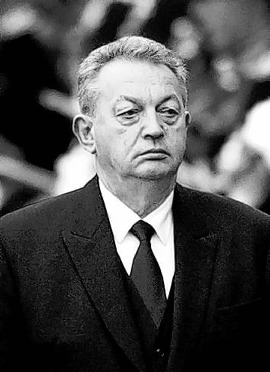 De deze zomer overleden minister Gerrit Braks.
